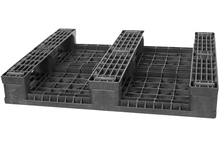 GS.37.32.3R3 - 3-Runner Recycled Plastic Beverage Pallet w/ 3 Rods ()