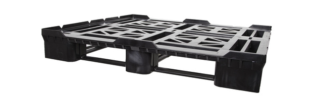 DRL4845 - 48x45 Recycled Plastic Drum Pallet w/ 1