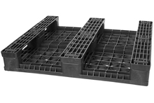 GS.37.32.3R0 - 3-Runner Recycled Plastic Beverage Pallet w/ No Rod ()